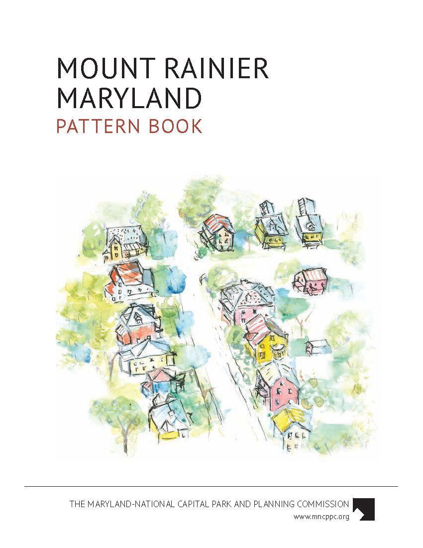 Mount Rainier Maryland Pattern Book Cover