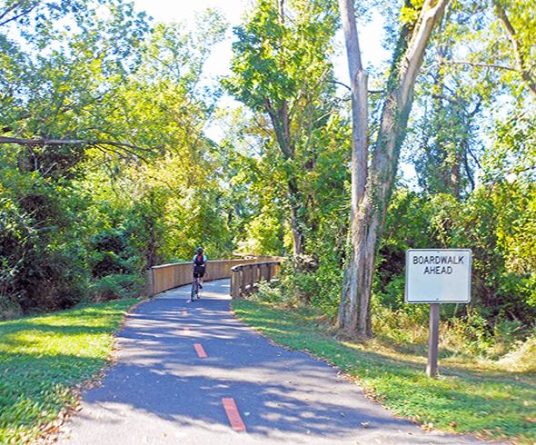 Recreational Paths Along the Anacostia River