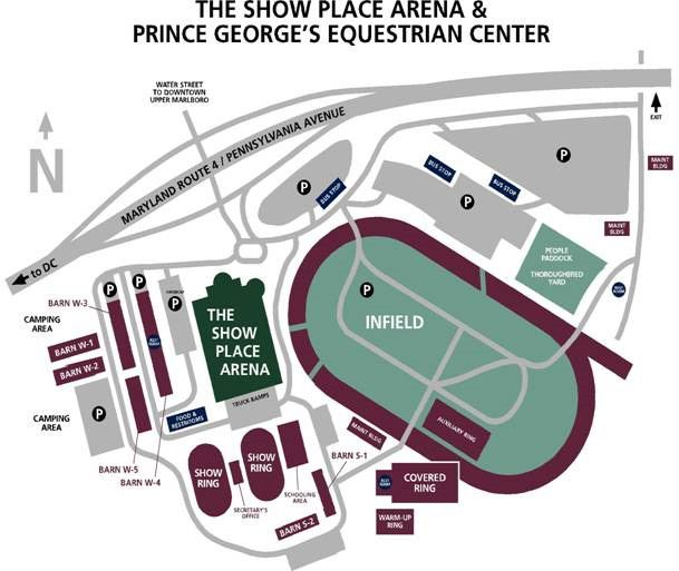 Equestrian Center Site Plan
