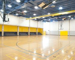 Indoor basketball court/gymnasium at Patuxent Community Center